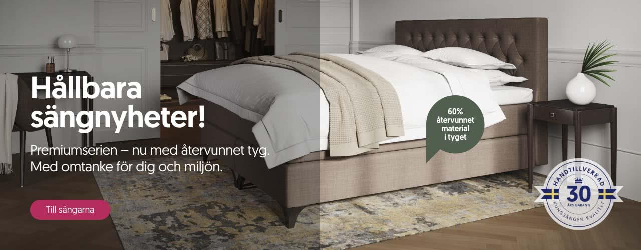 Hållbara sängnyheter!