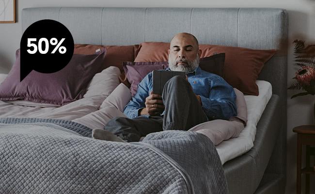 Black Friday - 50% på ställbara sängar