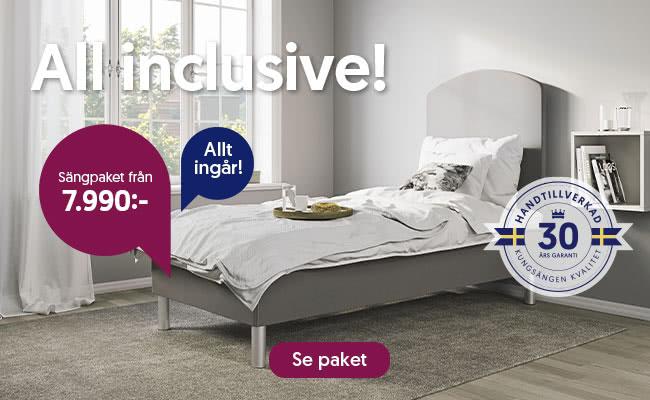 All inclusive - Sängpaket